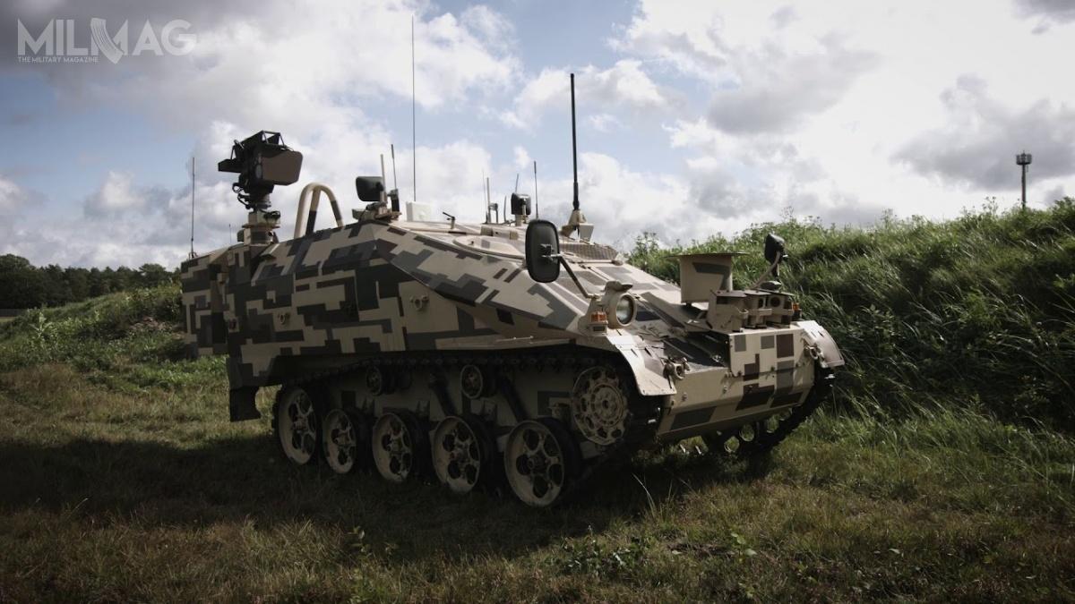 Niemcy proponują bezzałogowy wariant lekkiego transportera Wiesel 2/ Grafika: Rheinmetall Defence