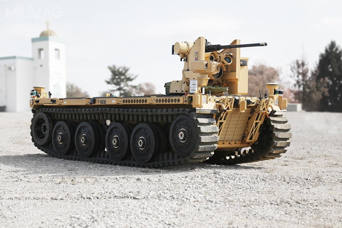 QinetiQ North America iPratt and Miller Defense złożyły oferują zmodyfikowany bezzałogowiec EMAV / Zdjęcie: Pratt and Miller Defense