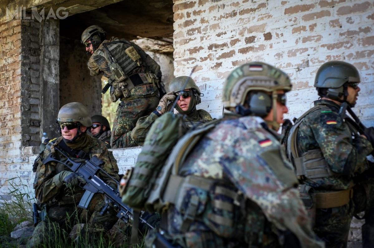 Niemcy są państwem ramowym międzynarodowego batalionu Wzmocnionej Wysuniętej Obecności NATO naLitwie / Zdjęcia: Ministerstwo Obrony Litwy