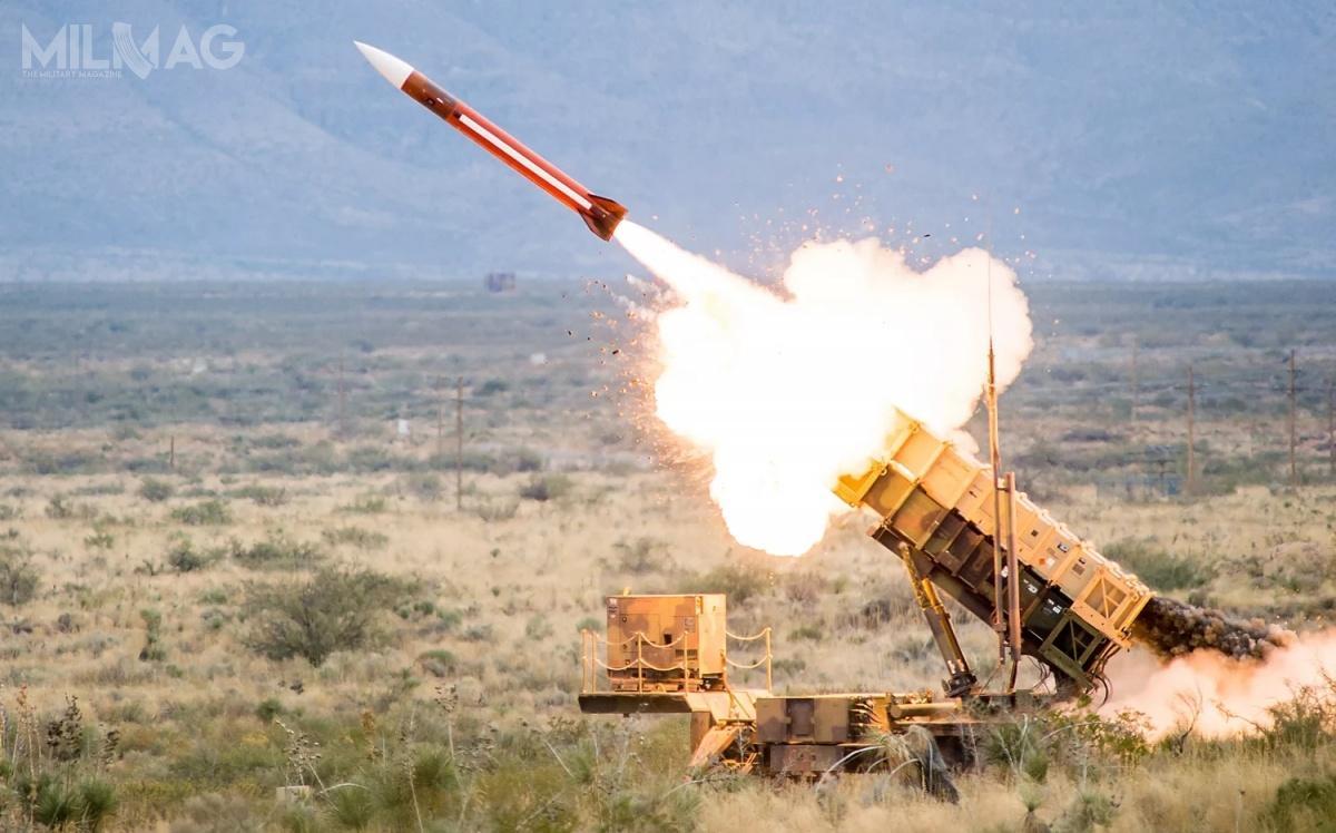 Pocisk przechwytujący MIM-104E GEM-T TBM został wprowadzony nawyposażenie US Army w2006, alewubiegłym roku przeszedł modernizację wydłużającą resursy eksploatacyjne jego elementów / Zdjęcie: Raytheon