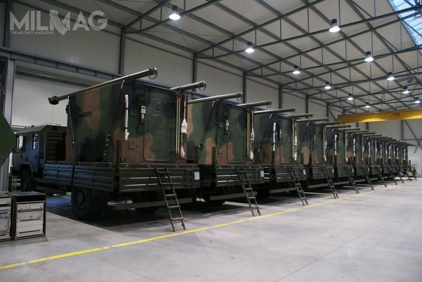 Ostatnia dostawa aparatowni zakończyła 11 grudnia 2017 iobejmowała 11 pojazdów. Zkolei 12 pozostałych miało być dostarczonych do30 maja 2018. /Zdjęcia: Polska Grupa Zbrojeniowa