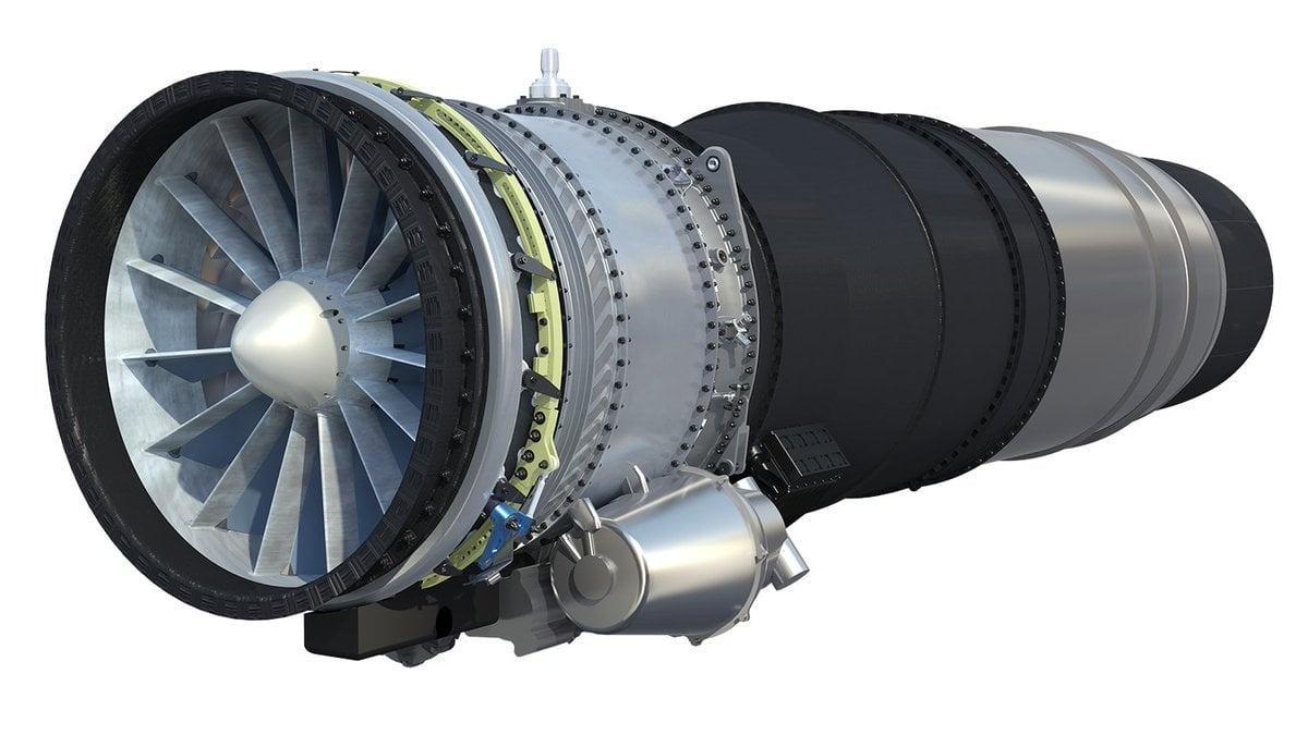 W komorze spalania silnika turbowentylatorowego nowej generacji ma panować temperatura 2100 st. C. Dla porównania silnik Snecma M88 napędzający samolot  Dassault Rafale generuje 1850 st. C / Grafika: Safran Aircraft Engines