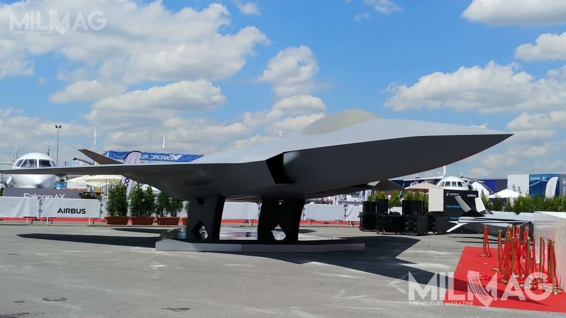 Oblot prototypu NGF, opracowywanego wramach programu FCAS, nastąpi niewcześniej niż w2038 / Zdjęcie: Michał Jarocki