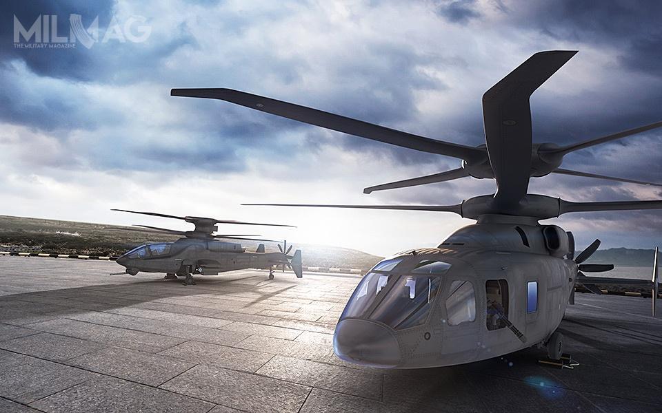 Wspólne elementy konstrukcyjne wariantu transportowego iszturmowego śmigłowca SB-1 Defiant tom.in.układ napędowy, system aktywnej kontroli wibracji, układy sterowania ikompozytowy kadłub / Grafiki: Boeing