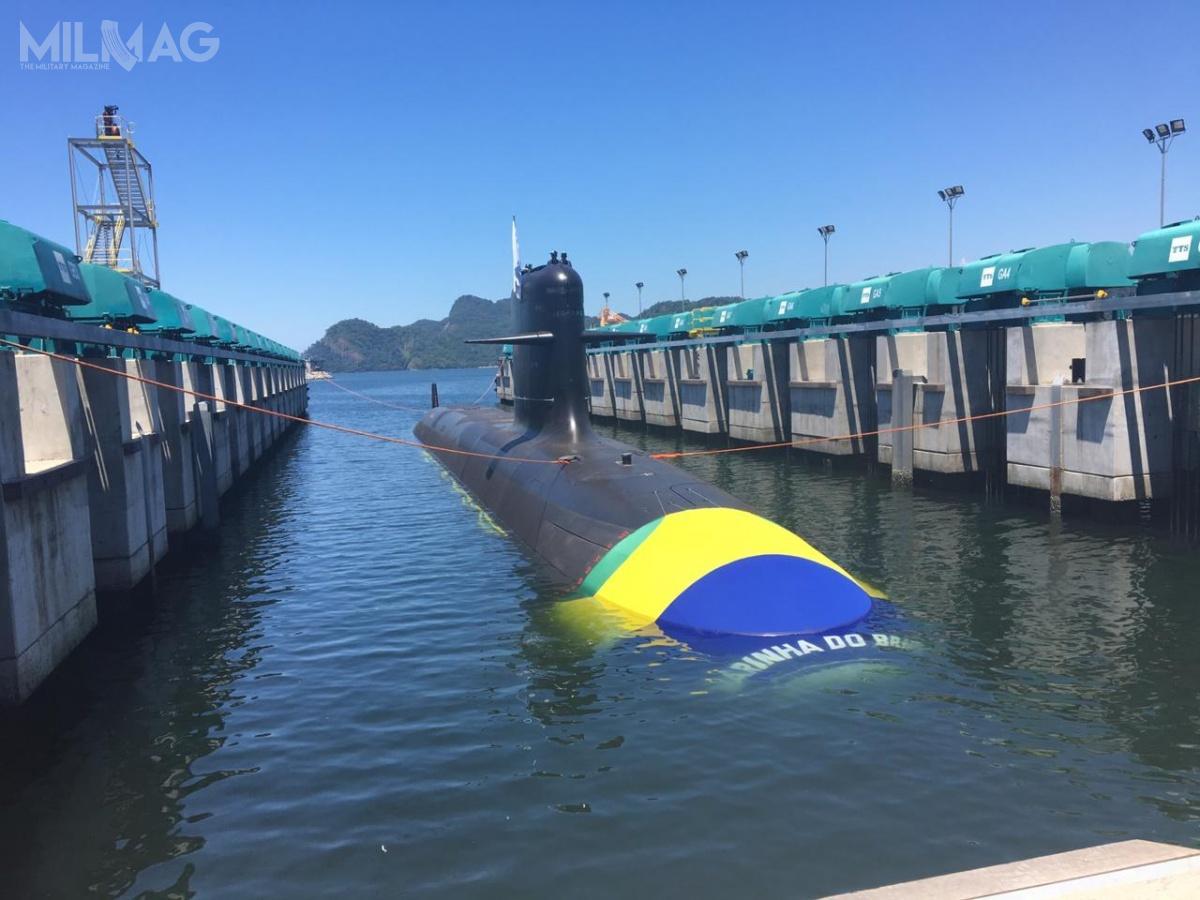Brazylijski podtyp S-BR ma największe wymiary iwyporność spośród łącznie czterech wariantów okrętów podwodnych typu Scorpène / Zdjęcia: Marynarka wojenna Brazylii