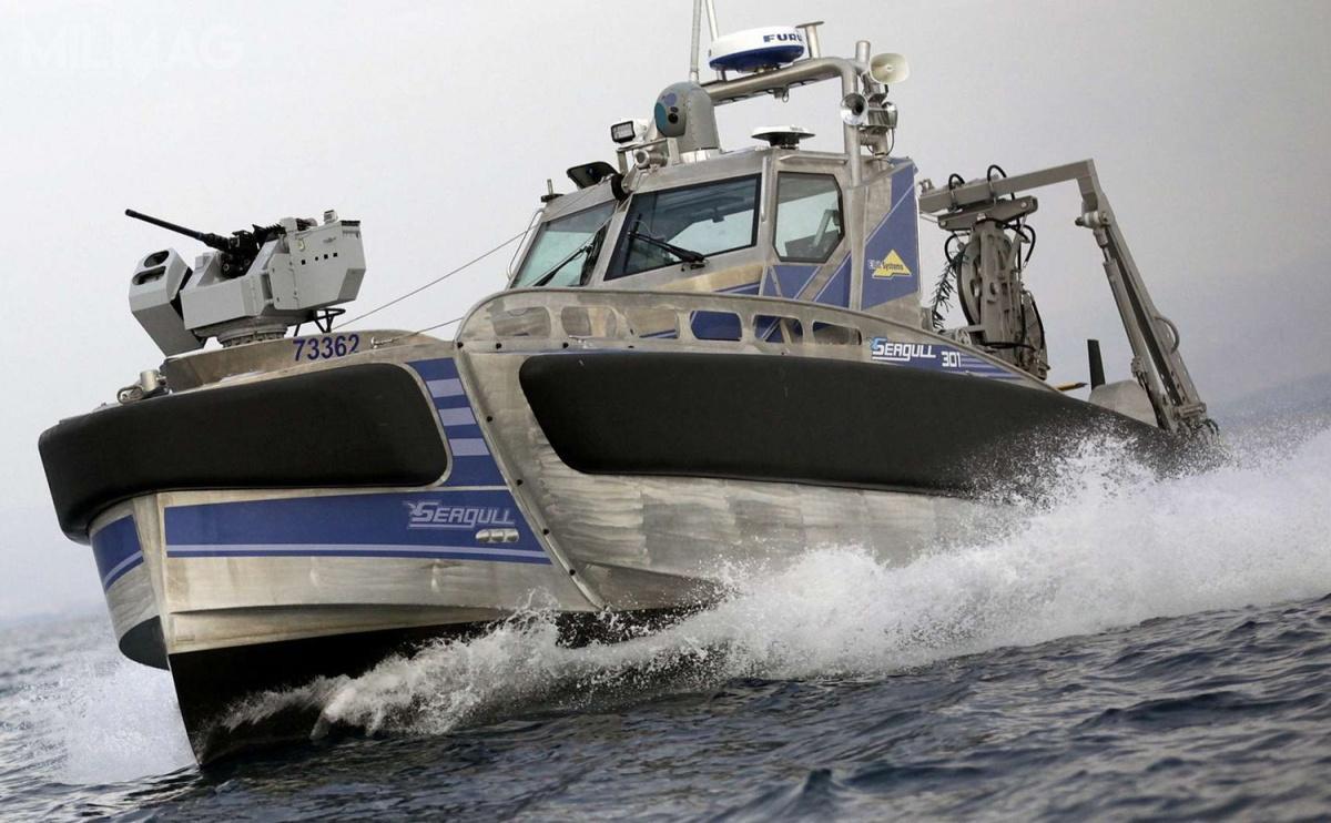 Seagull został zaprezentowany napoczątku lutego 2016. Jednostka powstała zmyślą oochronie stref przybrzeżnych