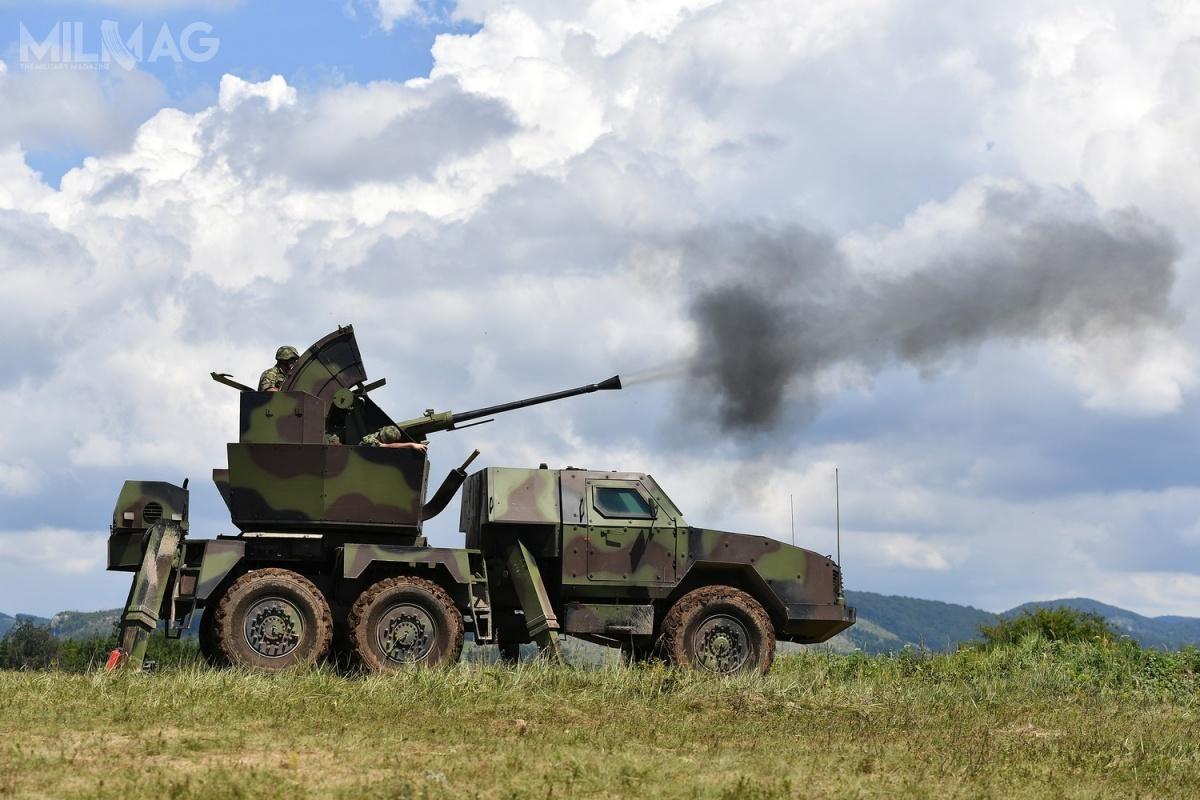 Pociski Mistral 3zostaną zintegrowane zmobilnym systemem artyleryjsko-rakietowym PASARS-16 Terminator, gdzie zastąpią testowane wcześniej rodzime pociski ILN-IC, opracowane nabazie rosyjskich R-13M. System wykorzystuje podwozie samochodu ciężarowego FAP 2026BS/AV zintegrowane znową, opancerzoną kabiną. / Zdjęcie:  Ministerstwo Obrony Serbii