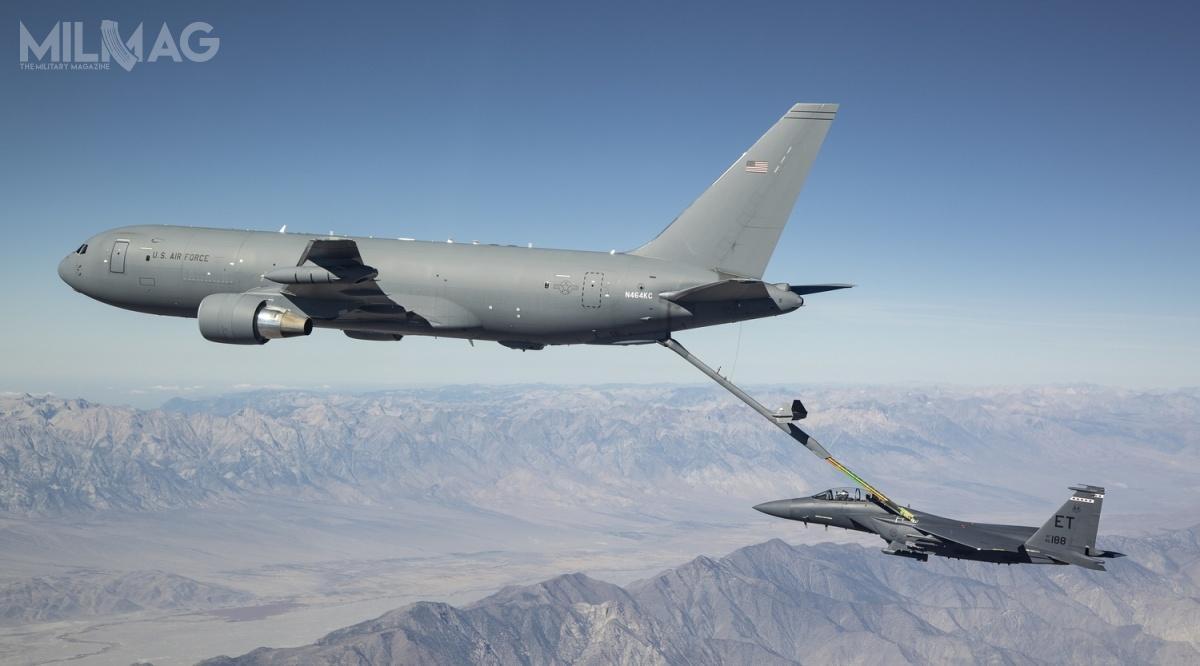 Boeing planuje zbudować dla USAF łącznie 179 tankowców nowej generacji wramach programu KC-X / Zdjęcie: USAF