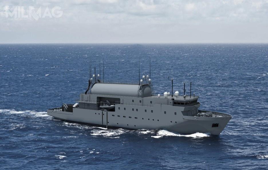 Zleceniodawcą budowy jest szwedzka Agencja ds.Zamówień Obronnych (Swedish Defence Materiel Administration, FMV), akontrakt wart jest 730 mln SEK (321 mln zł) / Grafika: Saab Defence and Security