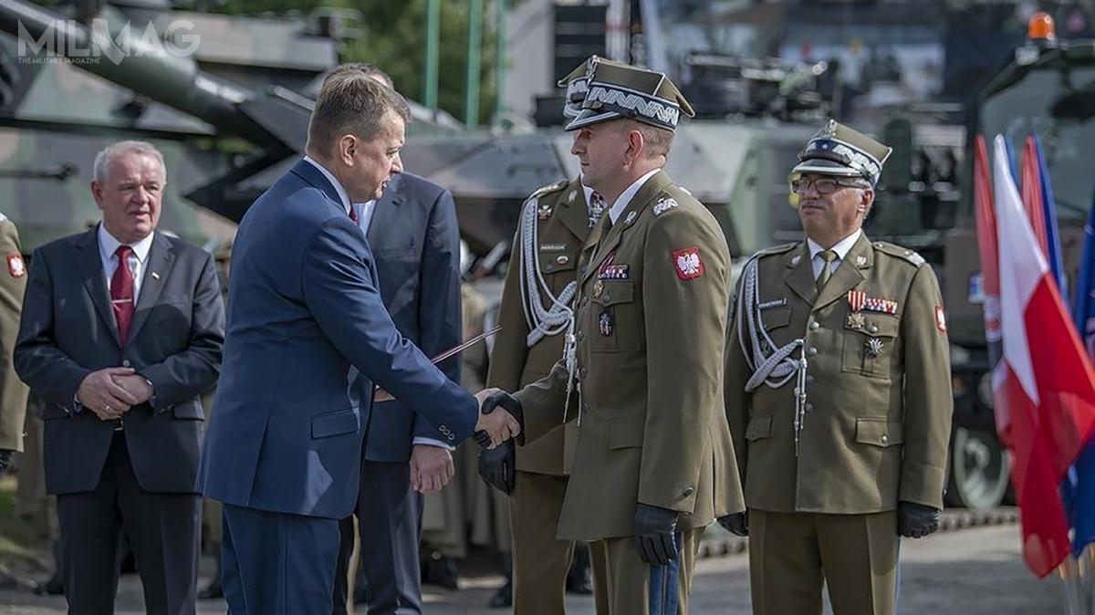 9 września minister obrony narodowej poinformował outworzeniu 18. Dywizji Zmechanizowanej, którejdowództwo będzie stacjonowało wSiedlcach / Zdjęcie: Robert Suchy/CO MON