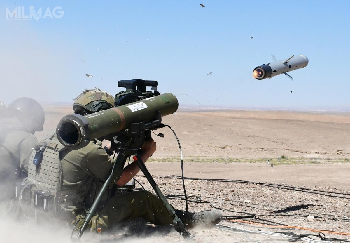 Ministerstwo Obrony Słowacji złożyło zamówienie napartię przeciwpancernych pocisków kierowanych Rafael Spike LR2