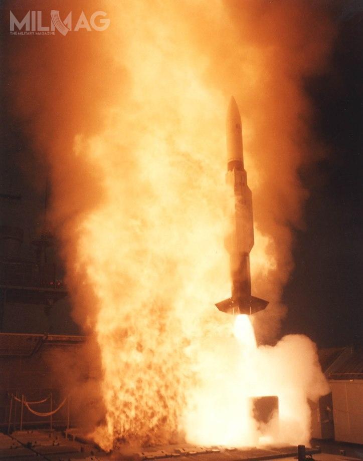 Dania stanie się piątym użytkownikiem tejwersji SM-2 obok USA, Hiszpanii, Holandii iNiemiec, które wlatach 1992-2018 zamówiły łącznie 475 pocisków. /Zdjęcie: US Navy