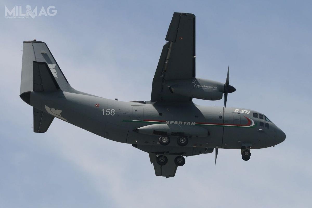 Ministerstwo obrony Słowenii zdecydowało się narozpoczęcie negocjacji zwłoskim rządem wsprawie zakupu pojedynczego, lekkiego samolotu transportowego Leonardo C-27J Spartan. Odrzucono tym samym kontroferty zC295W, A400M-180 Atlas, C-130J-30 Super Hercules iC-390 Millenium. / Zdjęcie: Borut Podgoršek, ministerstwo obrony Słowenii