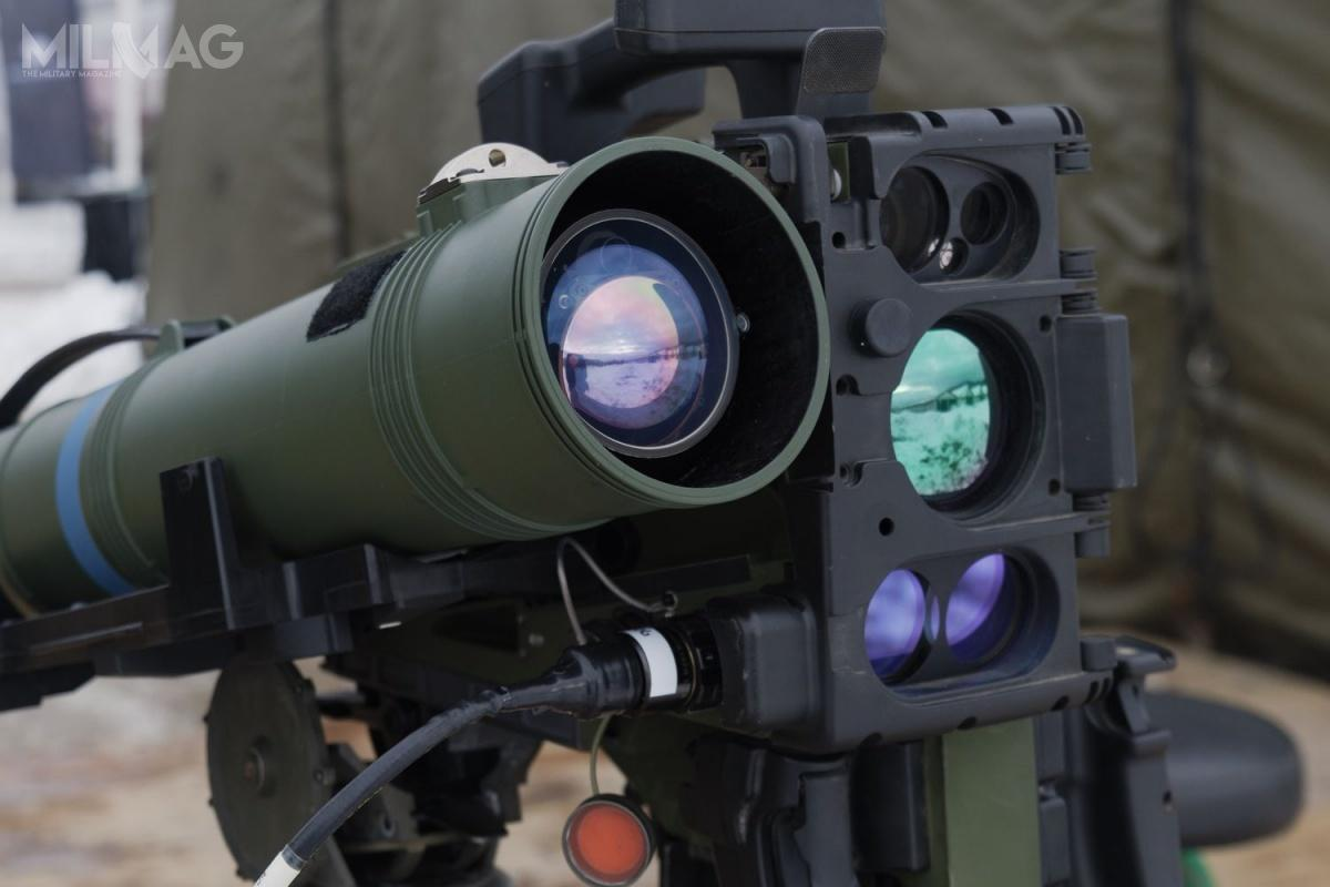 Oprócz strzelania ppk Spike LR zezsmu Kongsberg Protector napojeździe JLTV, przeprowadzono także pojazd wystrzelenia udoskonalonego ppk Spike LR2 zzestawu startowo-celowniczego ICLU natrójnogu. / Zdjęcia: Rafael Advanced Defense Systems
