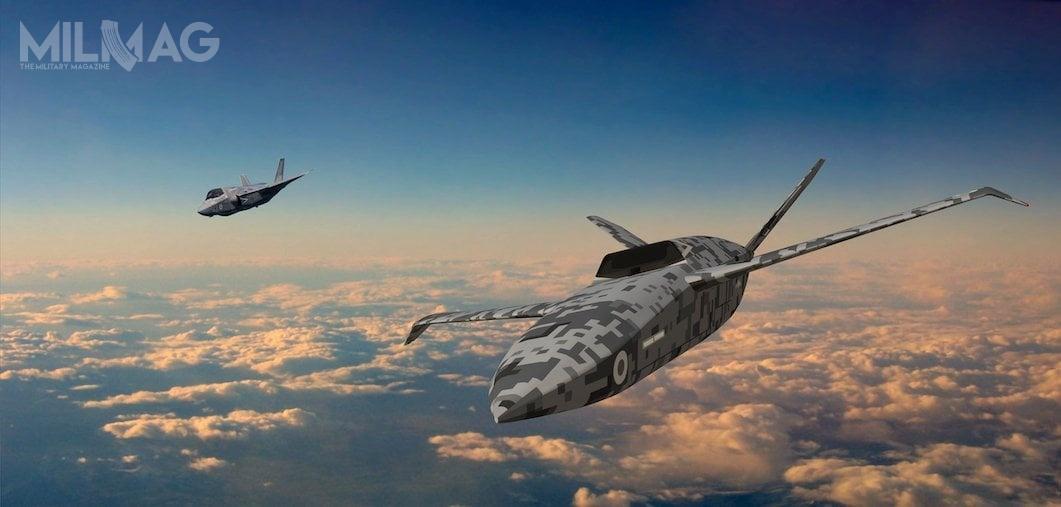 Ministerstwo obrony Wielkiej Brytanii zleciło spółce Spirit AeroSystems zaprojektowanie ibudowę prototypu bojowego, bezzałogowego statku latającego, tzw. lojalnego skrzydłowego. Statek miałby m.in.wspierać misje samolotów wielozadaniowych F-35B Lightning II.