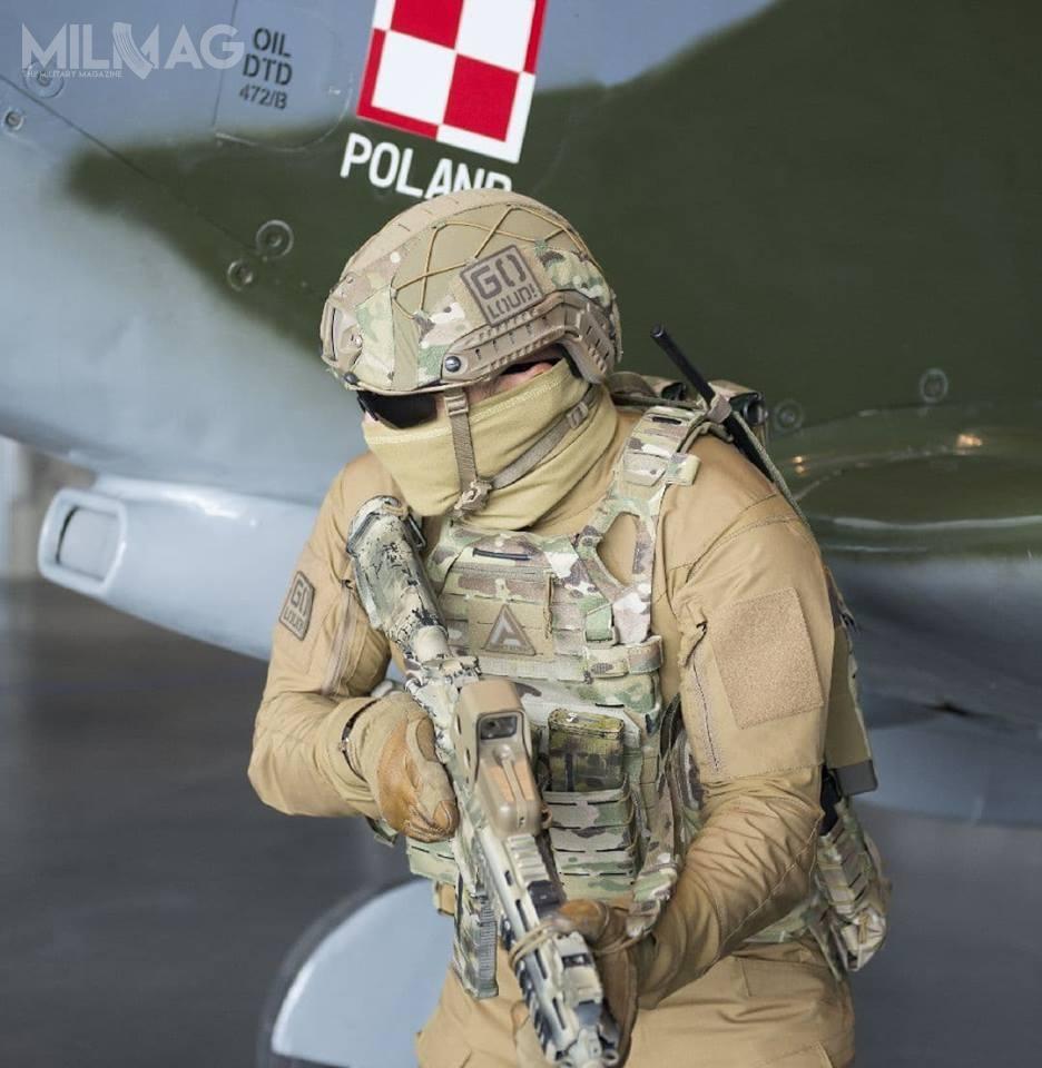 Nie ujawniono modelu nośników osłon balistycznych, alejak dowiedział się MILMAG podstawowym elementem zestawu będzie model kamizelki Spitfire (nazdjęciu). / Zdjęcia: Direct Action
