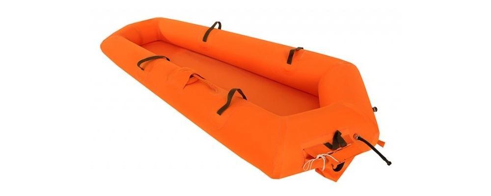 IU MON poszukuje m.in.dostawcy 198 lotniczych łódek ratowniczych (LŁR-1 MT), wyposażonych wbutlę, które umożliwiają pilotom bezpieczne przebywanie nawodzie poprzymusowym opuszczeniu samolotu lub śmigłowca zespadochronem nadobszarem wodnym / Zdjęcie: Lubawa