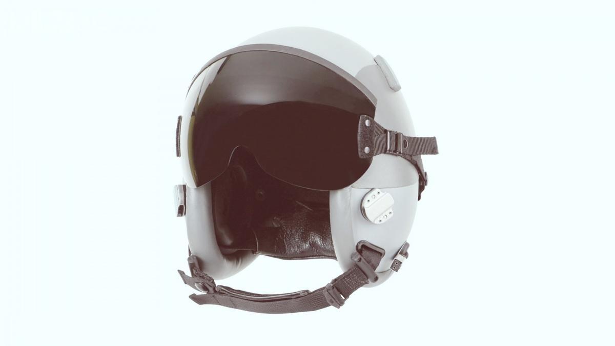 Na liście poszukiwanego wyposażenia dla lotników jest m.in.19 hełmów HGU-55/P dla pilotów samolotów F-16 / Zdjęcie: Gentex