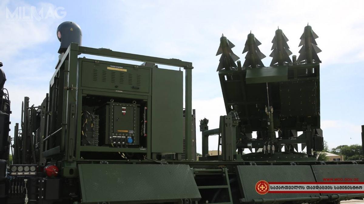 Nowe stacje radiolokacyjne zostały włączone dowcześniej nabytego systemu obrony powietrznej Rafael SPYDER. /Zdjęcia ifilm: Ministerstwo Obrony Gruzji.