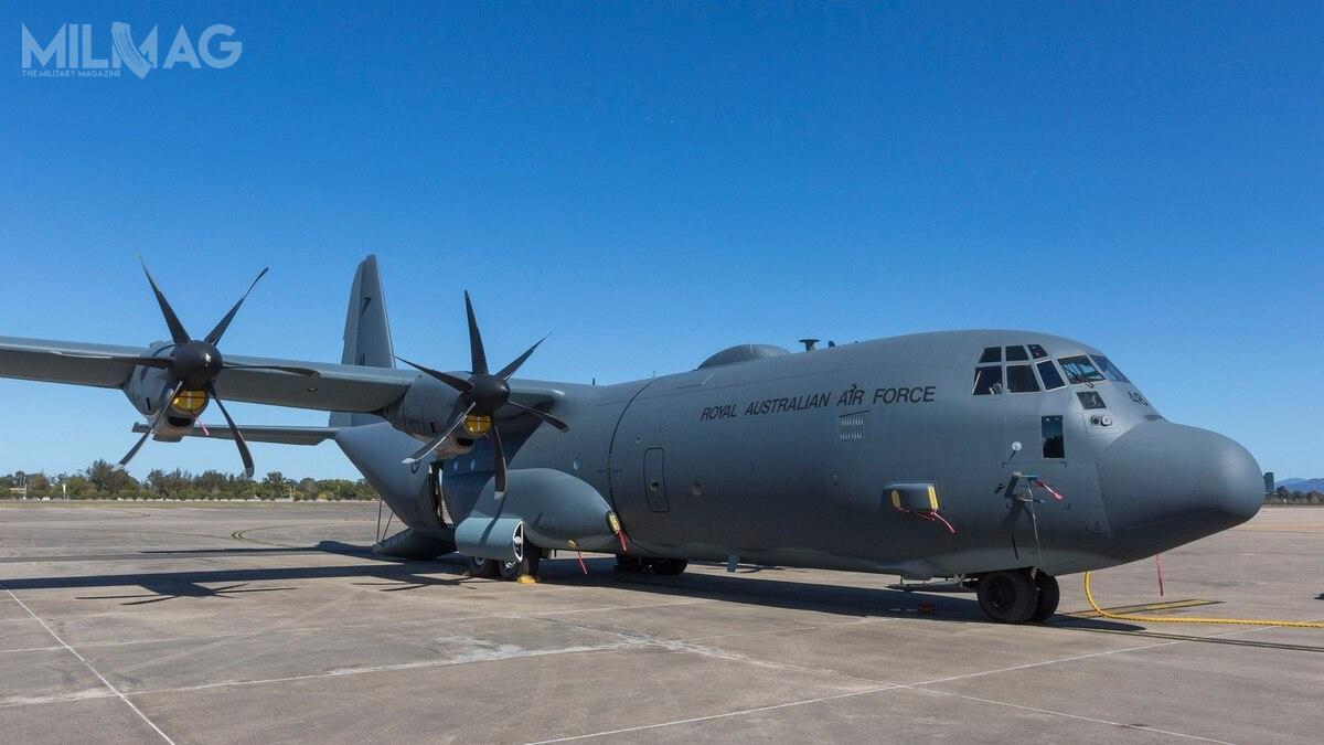 Wybór C-130J-30 Super Hercules wynika zchęci współpracy zaustralijskimi samolotami tego typu, które są wlinii od1999 / Zdjęcie: Departament Obrony Australii