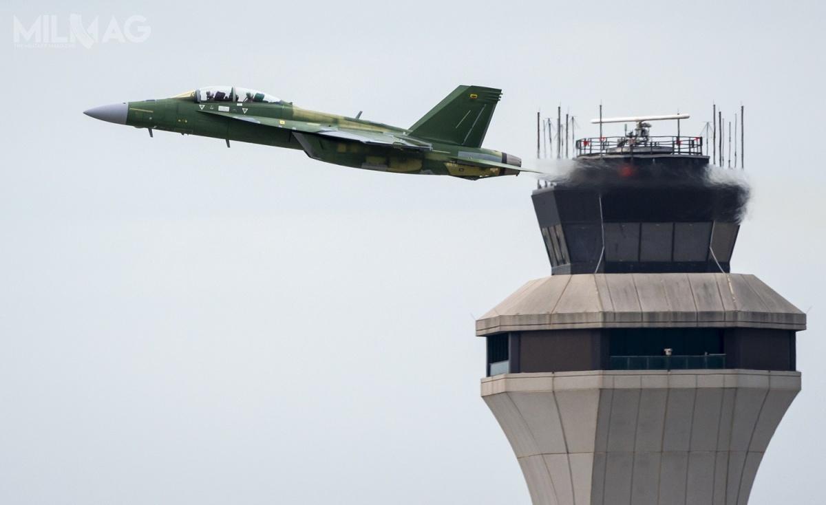 Dwumiejscowy F/A-18F Block III onrser. F287 został zaprezentowany 8maja ioblatany 4czerwca 2020 / Zdjęcie: Boeing