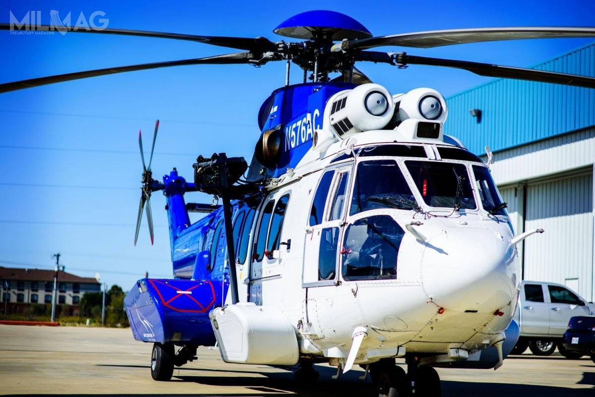 Po tragicznej katastrofie cywilnego EC225LP wkwietniu 2016, wiele spółek przemysłu naftowo-gazowniczego wycofało zcodziennej eksploatacji śmigłowce tego typu, dzięki czemu są dostępne narynku wtórnym / Zdjęcie: Airbus Helicopters