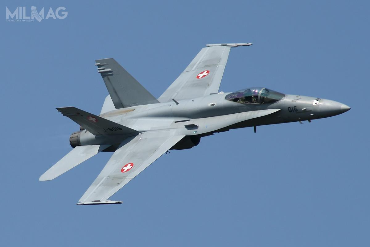 Szwajcarzy zdecydowali ozakupie następców samolotów bojowych F/A-18C/D iF-5E/F oraznaziemnych systemów obrony przeciwlotniczej/przeciwrakietowej / Zdjęcie: Swiss Armed Forces