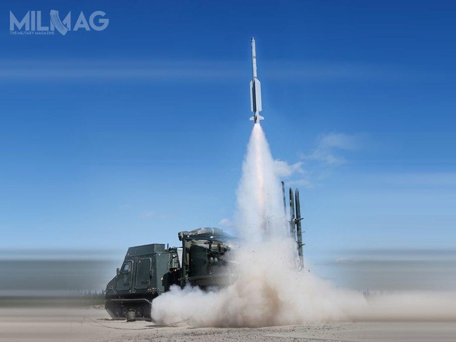 Zestawy EldE 98 zastąpią system Rb 97, ajego uzupełnieniem będą nowo zakupione zestawy Rb 103 (MIM-104E Patriot) iprzywrócone dosłużby operacyjnej zestawy RBS 23 BAMSE / Zdjęcie: FMV