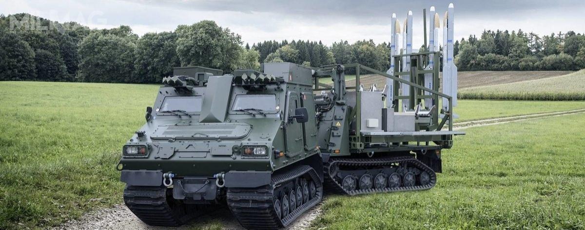 Szwecja jest pierwszym użytkownikiem systemu przeciwlotniczego IRIS-T SLS (opracowano również wariant średniego zasięgu SLM dla niemieckiego systemu obrony powietrznej TLVS). Pocisk IRIS-T został opracowany przy udziale szwedzkiego przemysłu obronnego iwwersji powietrze-powietrze (IRIS-T AA) jest używany przezsamoloty JAS 39C/D Gripen / Zdjęcie: Diehl Defence