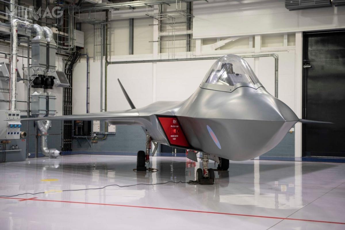 Tempest będzie obsługiwany przezzautomatyzowane zestawy obsługi naziemnej izdigitalizowane narzędzia diagnostyczne, apłatowiec pozwoli nadalszy rozwój architektury samolotu (np.dodanie konforemnych zbiorników paliwa). / Zdjęcie: Ministerstwo Obrony Wielkiej Brytanii