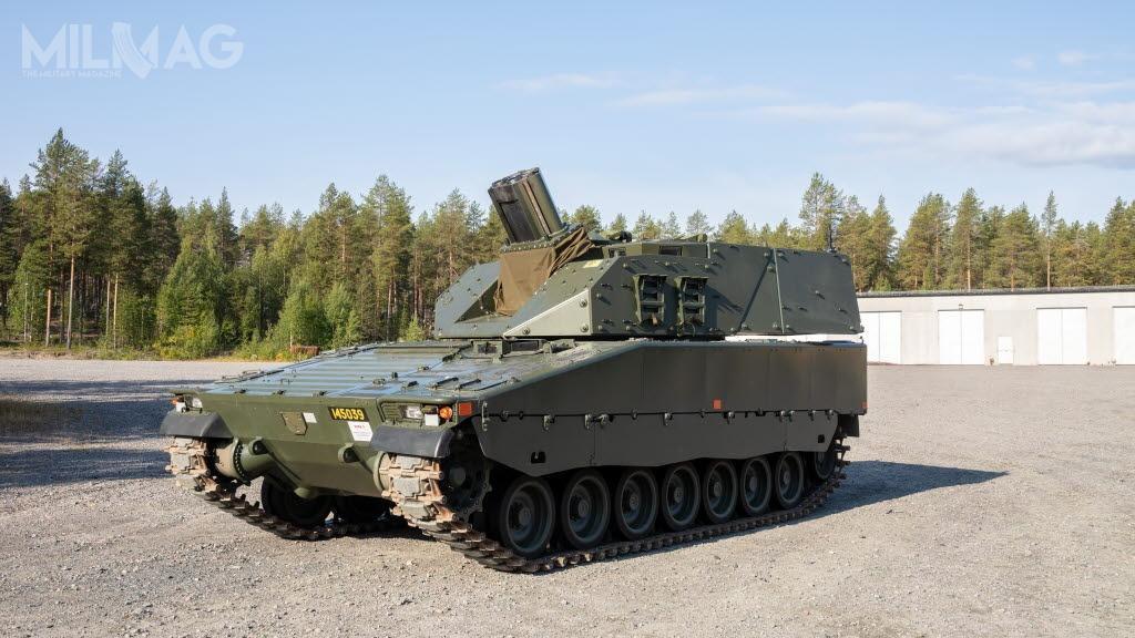 Do końca 2020 plutony artylerii batalionów zmechanizowanych wojsk lądowych Szwecji będą wyposażone w8moździerzy Grkpbv90 iwozy amunicyjne Bv206 / Zdjęcia: FMV