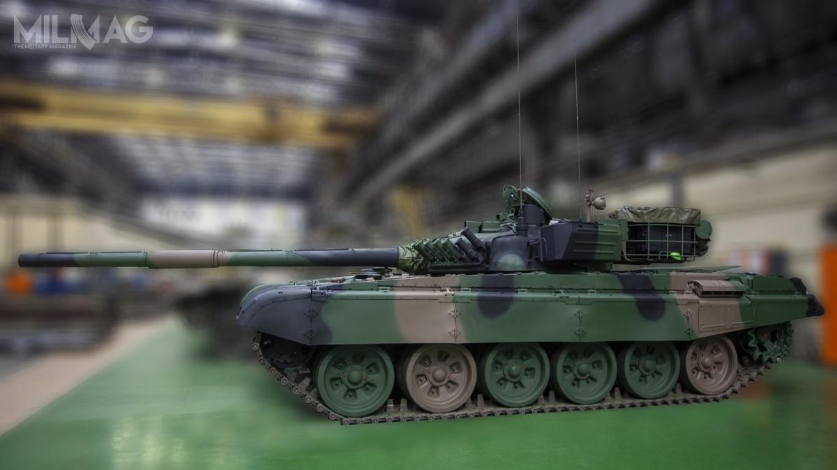 Remont generalny imodyfikacja czołgów T-72M1 jest rozwiązaniem pomostowym przedwprowadzeniem dosłużby wozów nowej generacji okryptonimie Wilk