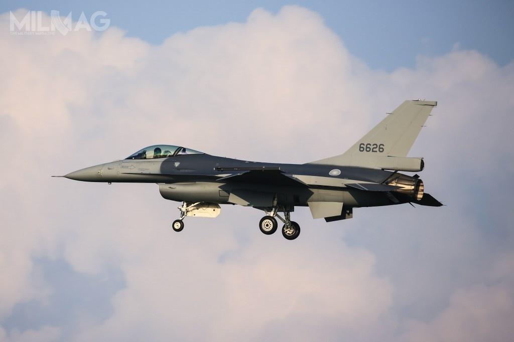 Wojska lotnicze Tajwanu będą dysponować łącznie 209 samolotami F-16, wtym 143 zmodernizowanymi F-16V i66 fabrycznie nowymi F-16C/D Block 70 / Zdjęcie: Chiang kuan-lun