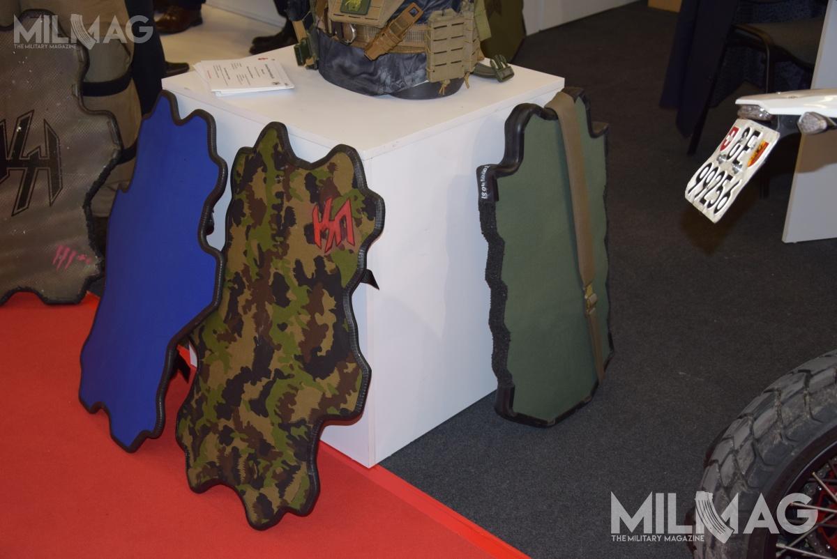 Jak dowiedział się Militarny Magazyn MILMAG linia tarcz balistycznych kierowana dosłużb mundurowych, jest efektem współpracy szwajcarów zżołnierzami sił specjalnych. /Zdjęcia: DB iUSH