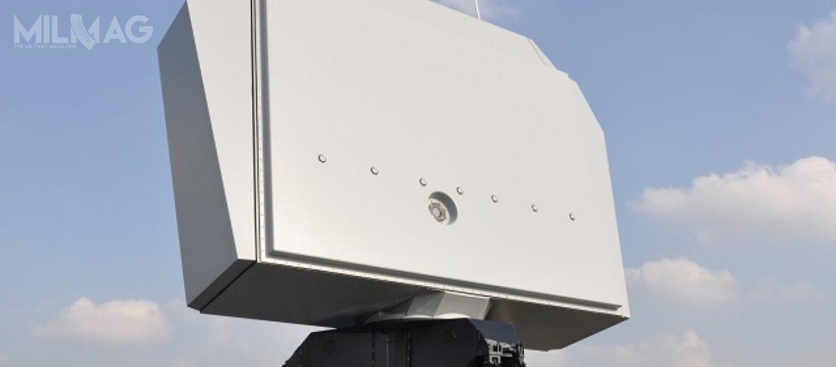 Radar typu NS100 umożliwia jednoczesne wykrywanie wielu różnych celów wjednym trybie operacyjnym