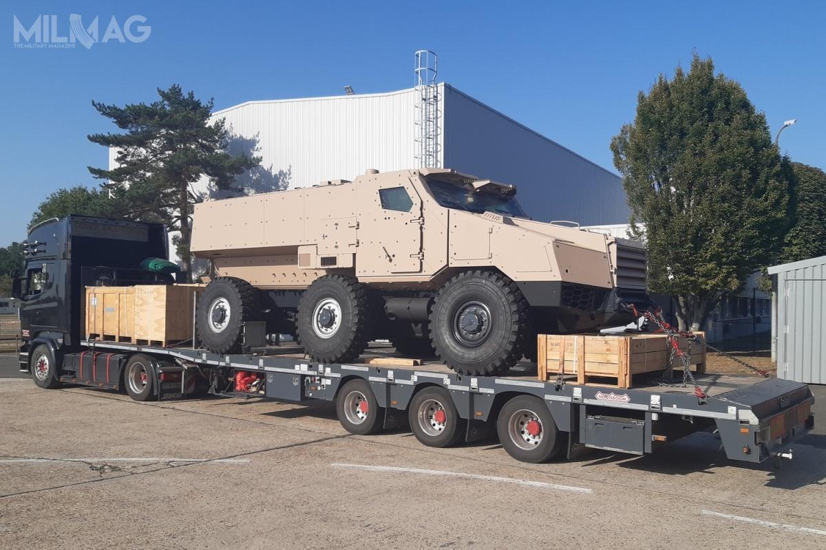 Zakup ciężkich pojazdów patrolowych jest wynikiem doświadczeń wojsk lądowych (Pozemní síly) aAfganistanu, gdzie lekkie Iveco LMV okazały się niewystarczające wobec zagrożeń zestrony improwizowanych ładunków wybuchowych / Zdjęcie: Nexter Systems