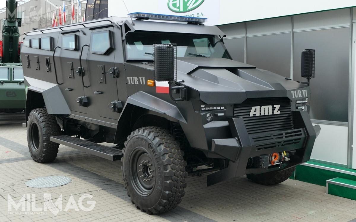 Na liście planowanych postępowań Policji w2018 znalazł się zakup ośmiu transporterów opancerzonych, z35 które zamierzano trzy lata temu pozyskać dla OPP, SPPP, SPAP iBOA / Zdjęcie: Paweł Ścibiorek