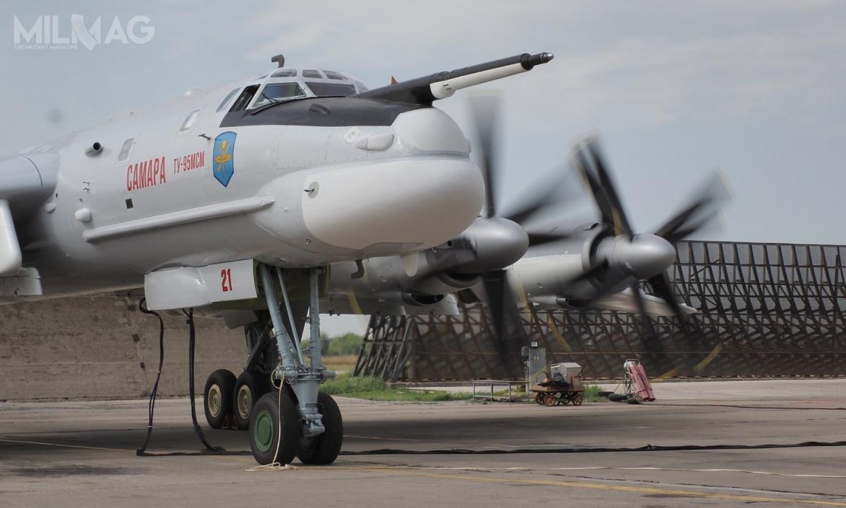 Tu-95MSM otrzymał zmodernizowane silniki turbośmigłowe Kuzniecow NK-12MPM ozwiększonej żywotności iniezawodności, znowymi śmigłami AW-60T
