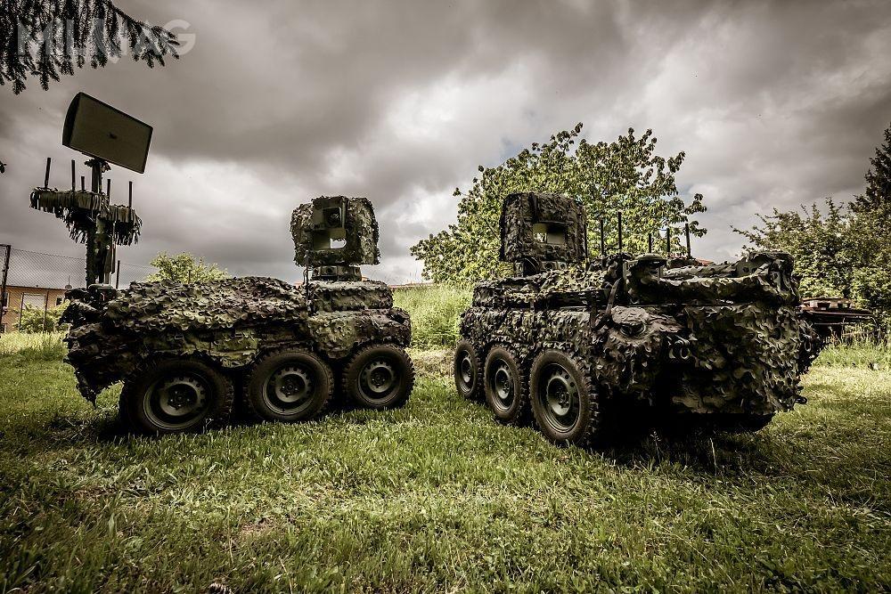 Zgodnie zopublikowanymi fotografiami, konsorcjum VTÚVM iVOP CZ przekazało czeskiej armii dwa egzemplarze rozpoznawczych platform bezzałogowych UGV-Pz
