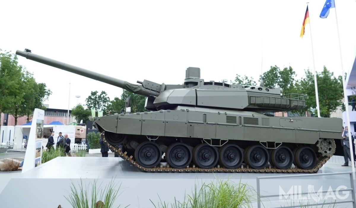 Londyn wystosował zapytanie doBerlina iParyża wsprawie dołączenia doprogramu budowy czołgu nowej generacji MGCS wroli obserwatora / Zdjęcie: Archiwum MILMAG