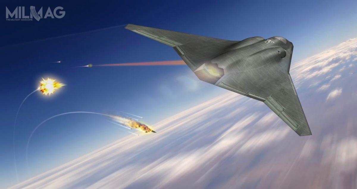 W lutym 2016 Northrop Grumman zaprezentował własną koncepcję samolotu wielozadaniowego 6. generacji. / Grafika: Northrop Grumman