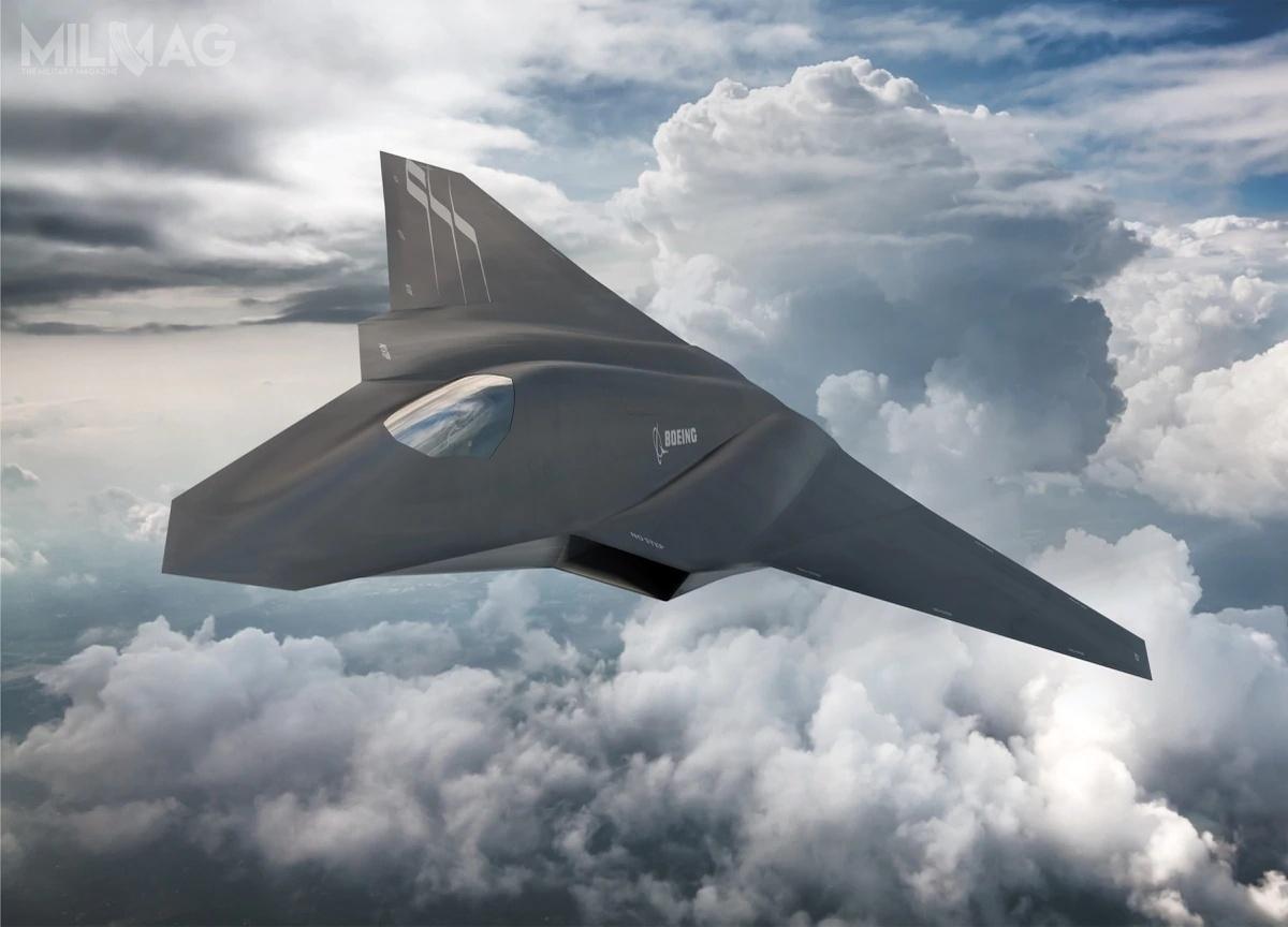 We wszystkich trzech koncepcjach zaprezentowanych przezamerykański przemysł, cechami wspólnymi są konstrukcja bezogonowa wukładzie latającego skrzydła lub skrzydła rozmytego – isą to, co istotne, samoloty załogowe. / Grafika: Boeing