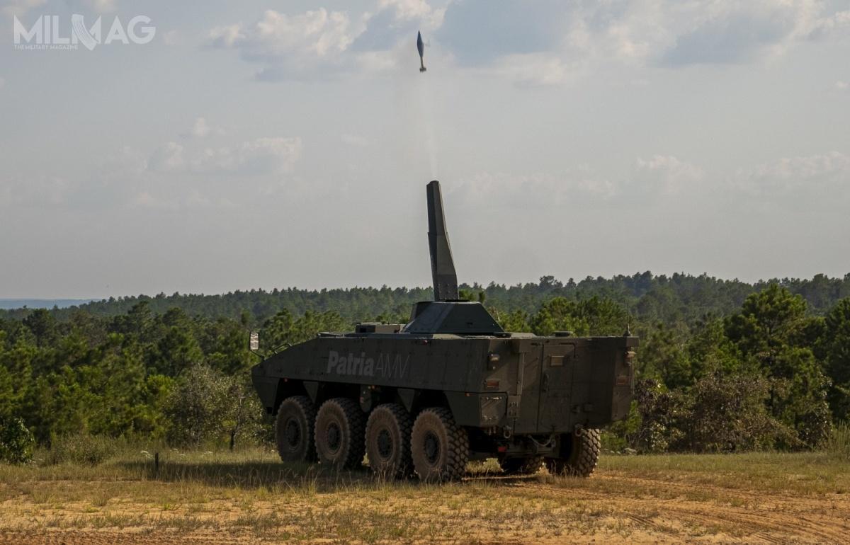 120-mm moździerz samobieżny NEMO może być zdalnie sterowany, razić cele ogniem pośrednim ibezpośrednim, atakże wtrybie MRSI / Zdjęcie: US Army