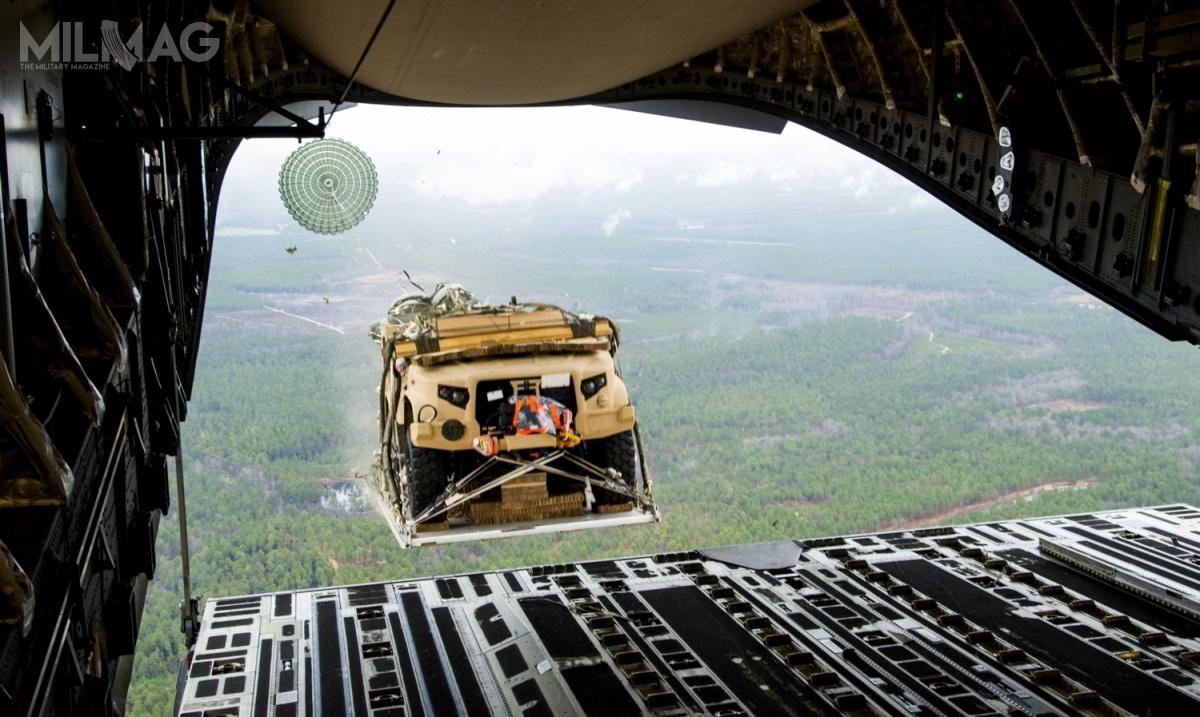 Amerykańskie wojska lądowe (US Army) planują zamówić łącznie 49 099 pojazdów JLTV, wtym dla Dowództwa Operacji Specjalnych (USSOCOM) / Zdjęcie: US Army