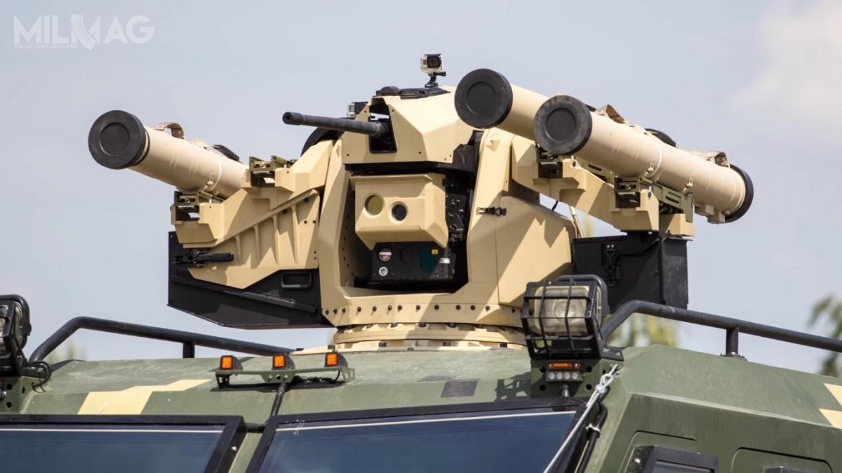 Uzbrojeniem modułu są ppk Skif orazprawdopodobnie 7,62-mm karabin maszynowy / Film izdjęcia: KB Łucz