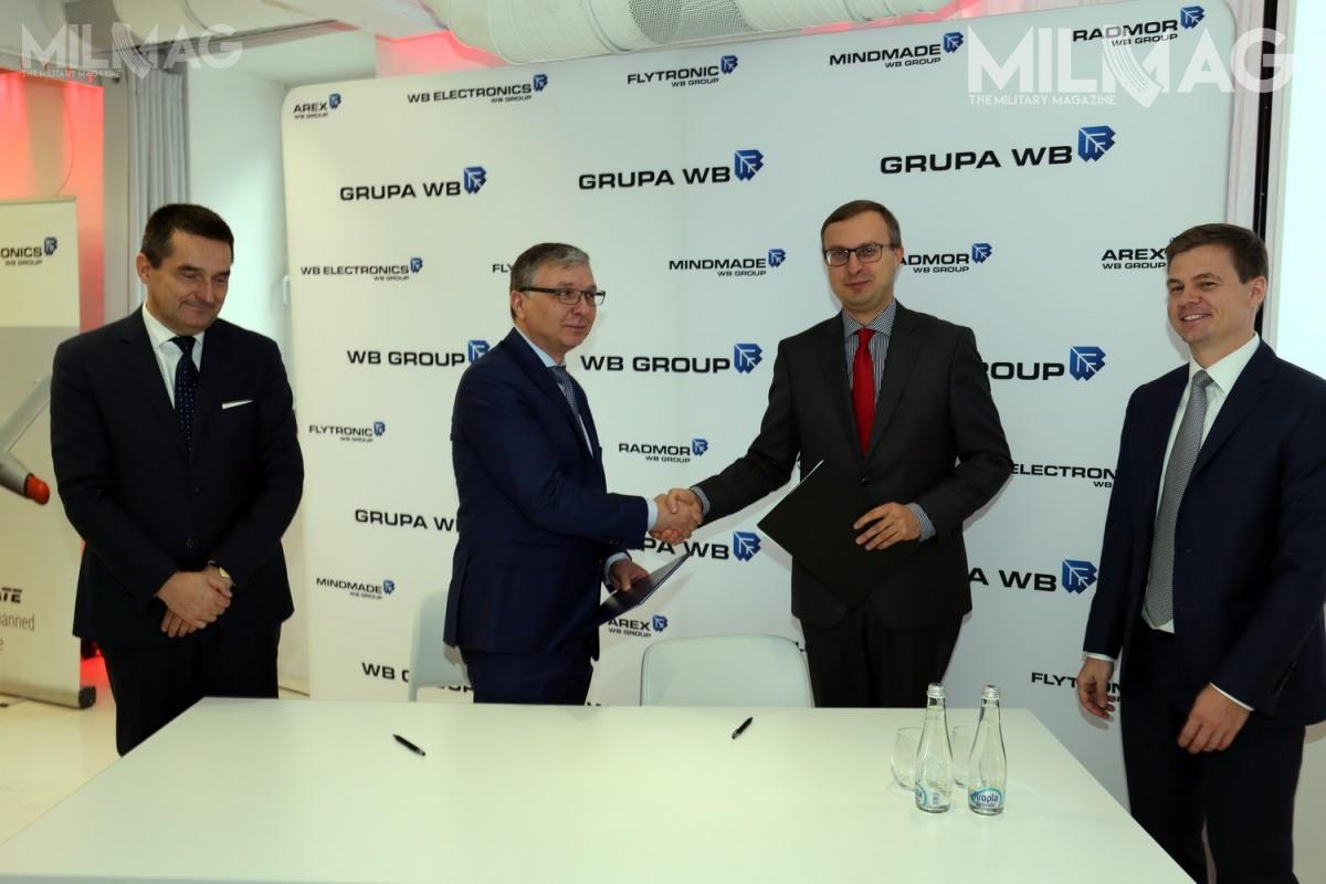 Umowa między WB Electronics aPolskim Funduszem Rozwoju tonietylkodokapitalizowanie przedsiębiorstwa, aletakże powrót ożarowskiej spółki dodużych polskich programów zbrojeniowych / Zdjęcie: WB Electronics