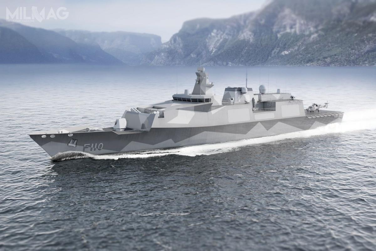 Projekt przyszłych fregat rakietowych typu 32 mógłby bazować np.Naodrzuconych propozycjach wrozstrzygniętym wewrześniu ubiegłego roku programie lekkich fregat typu 31 / Grafika: Babcock/BMT