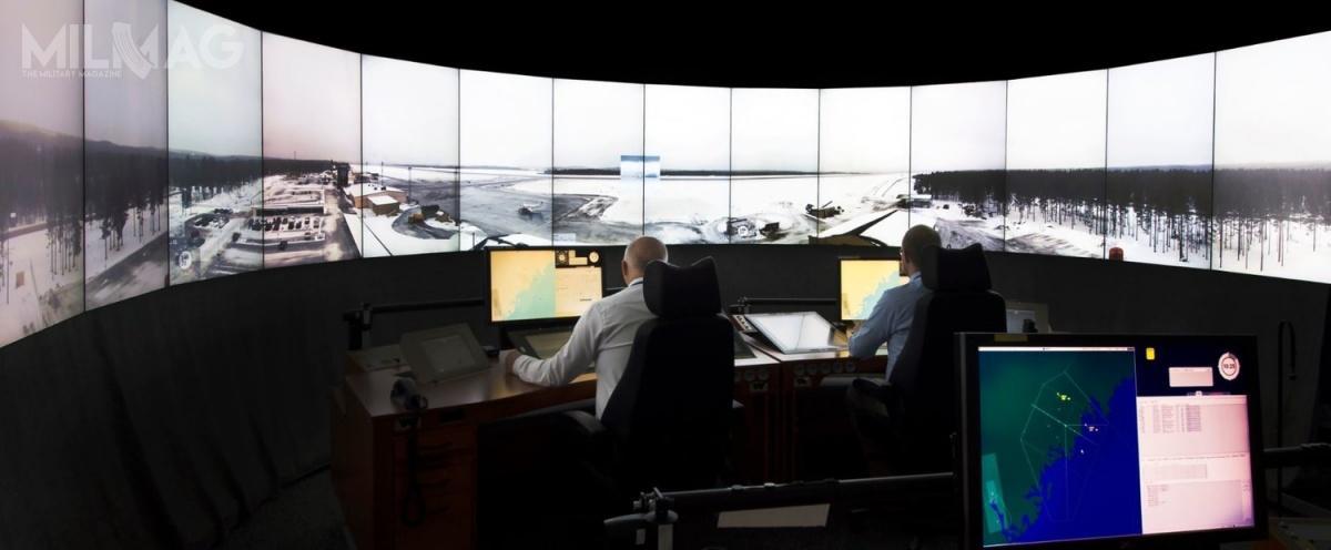 Obraz wideo idźwięk wczasie rzeczywistym będą przesyłane zlotniska dowirtualnej wieży kontroli lotów.  / Zdjęcie: Saab Digital Air Traffic Solutions