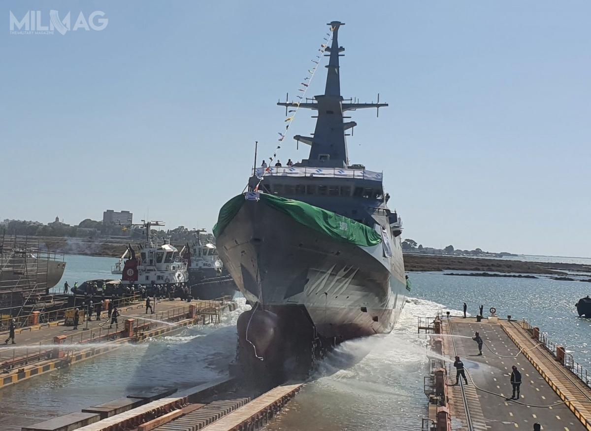 Arabia Saudyjska zamówiła wHiszpanii pięć korwet typu Al-Dżubajl. Ich uzupełnieniem, wramach modernizacji sił morskich tego państwa, będą cztery amerykańskie fregaty wielozadaniowe MMSC, bazujące natypie Freedom klasy LCS / Zdjęcie: Navantia
