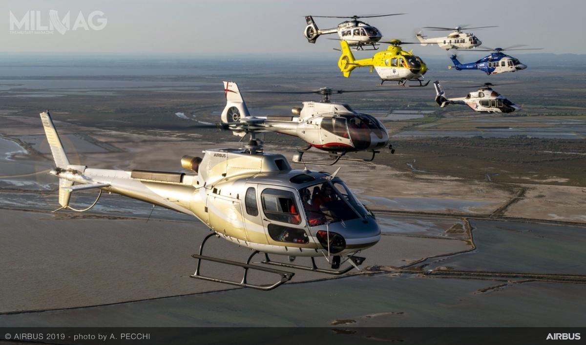 Europejska spółka Airbus Helicopters opublikowała sprawozdanie dotyczące sprzedaży śmigłowców ipowiązanych usług w2020 roku.